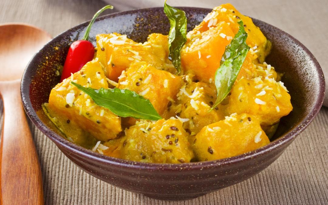 Paleo Curry-Kürbis