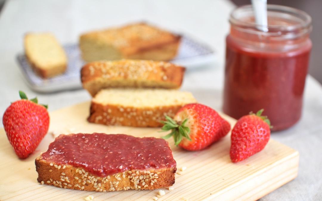 Chia Erdbeer Marmelade