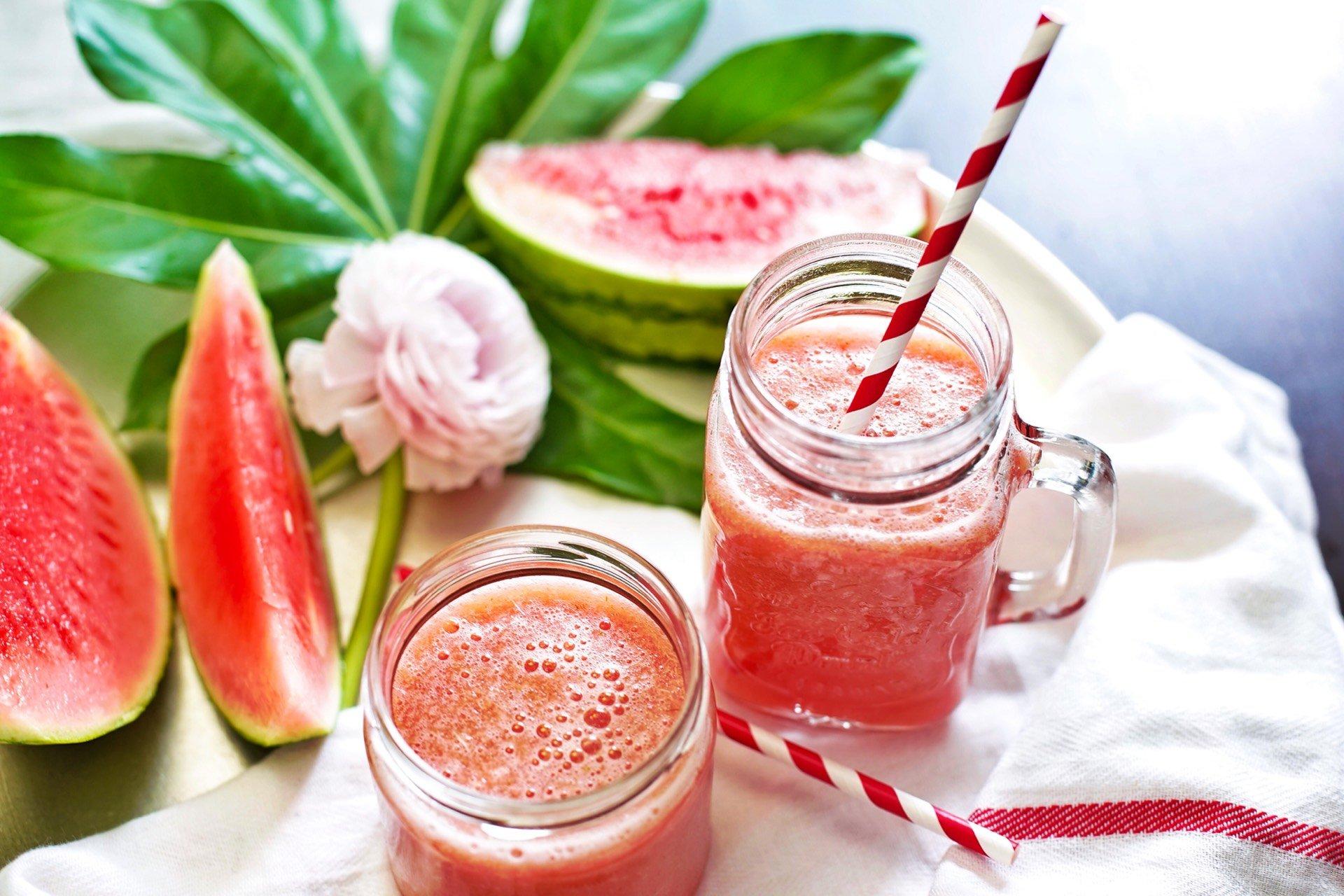 Wassermelonen-Fenchel-Drink